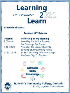 Learning 2 Learn Week- Tuesday